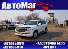 Хабаровск Land Cruiser 2016