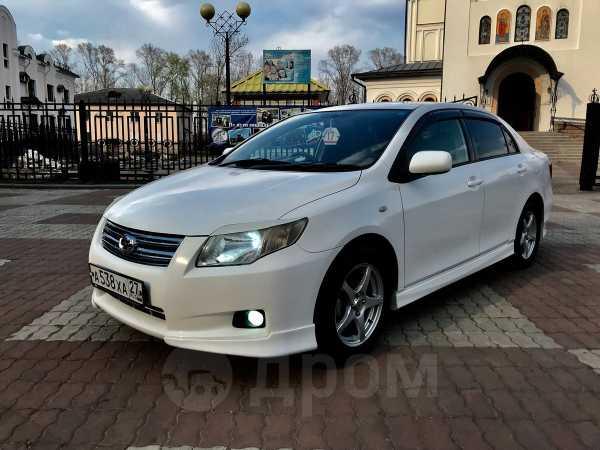 Toyota Corolla Axio, 2007 год, 498 000 руб.