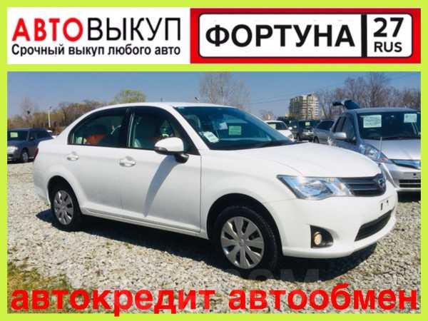 Toyota Corolla Axio, 2013 год, 658 000 руб.