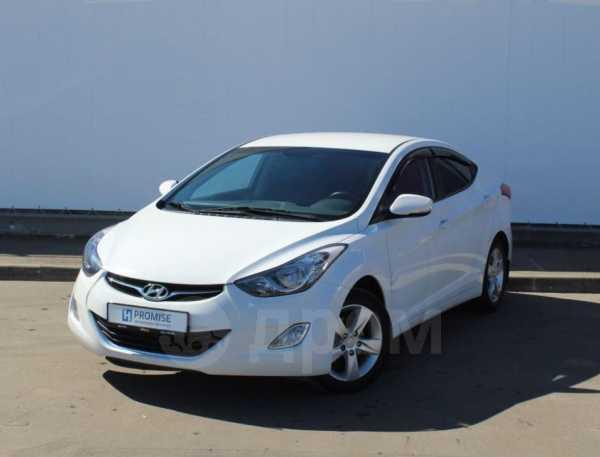 Hyundai Elantra, 2013 год, 599 000 руб.