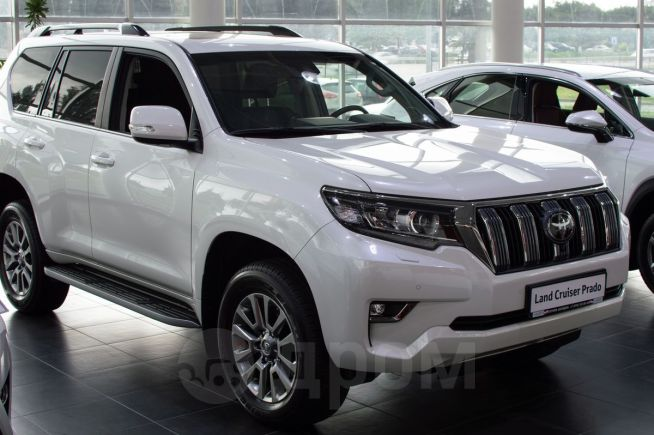 Toyota Land Cruiser Prado, 2017 год, 3 893 300 руб.