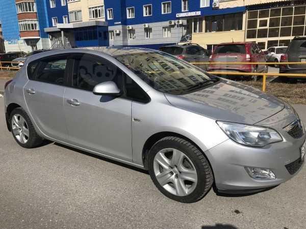 Opel Astra, 2011 год, 402 000 руб.