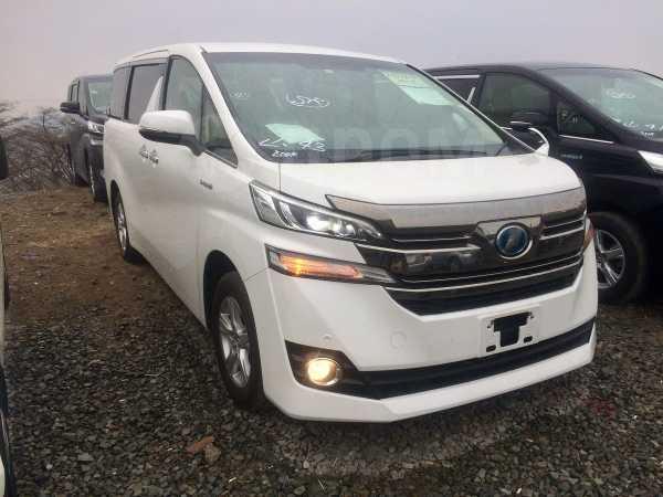 Toyota Vellfire, 2015 год, 2 185 000 руб.