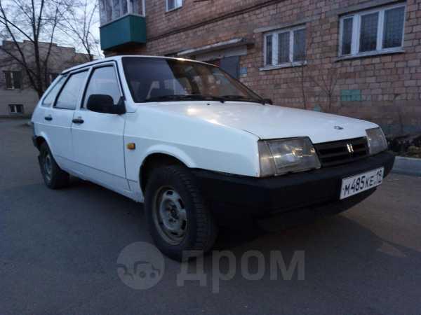 Лада 2109, 1989 год, 50 000 руб.