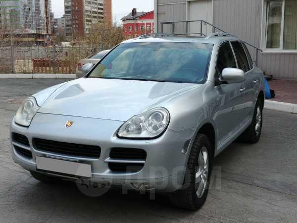 Porsche Cayenne, 2005 год, 700 000 руб.