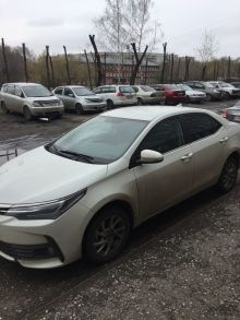 Toyota Corolla, 2017 г., Новокузнецк