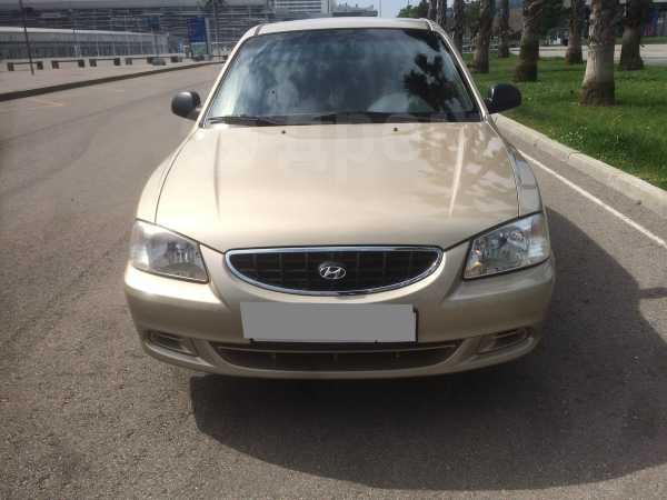 Hyundai Accent, 2006 год, 265 000 руб.