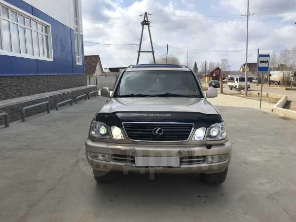 Lexus LX470, 2002 год, 800 000 руб.
