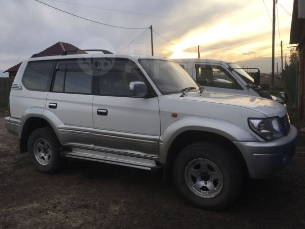 Toyota Land Cruiser Prado, 2000 год, 650 000 руб.