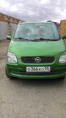 Opel Agila, 2001 г., Омск
