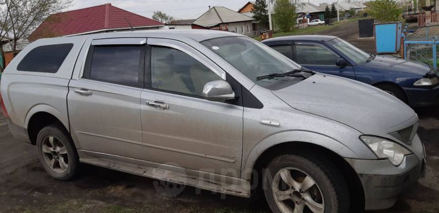 SsangYong Actyon Sports, 2007 год, 310 000 руб.