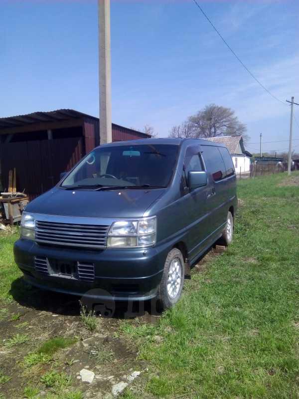 Nissan Elgrand, 1999 год, 100 000 руб.