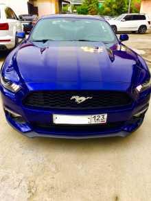 Сочи Mustang 2016