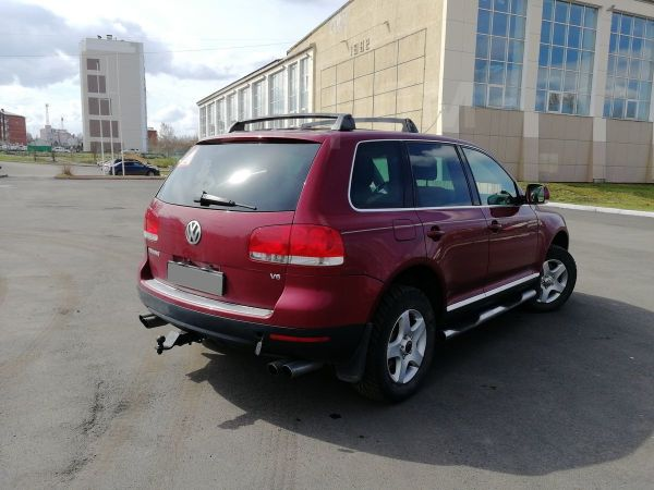Volkswagen Touareg, 2003 год, 575 000 руб.
