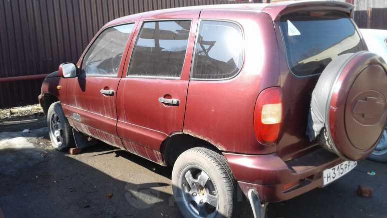 Лада 4x4 2121 Нива, 2003 год, 98 000 руб.