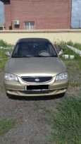 Hyundai Accent, 2000 год, 130 000 руб.