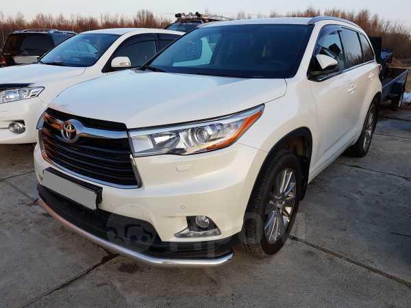 Toyota Highlander, 2015 год, 2 650 000 руб.