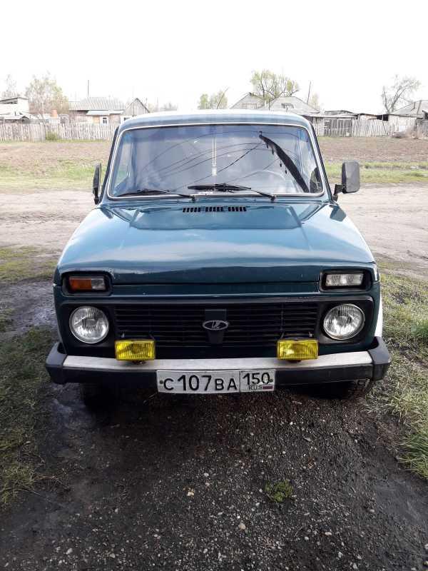 Лада 4x4 2121 Нива, 2002 год, 120 000 руб.