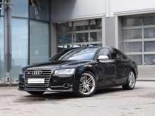 Audi S8, 2014 г., Санкт-Петербург