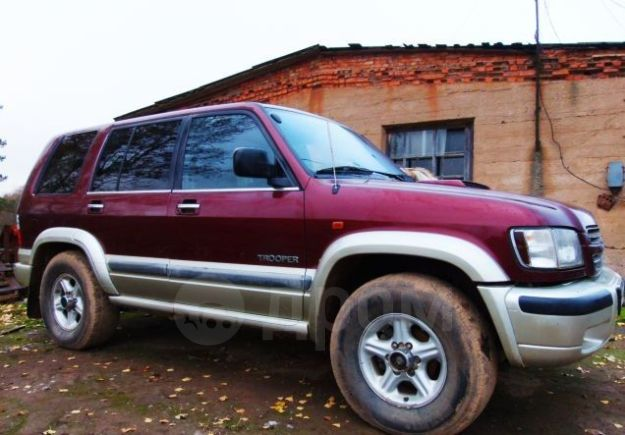 Isuzu Trooper, 2002 год, 680 000 руб.