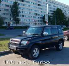 Mitsubishi Pajero IO, 2000 г., Санкт-Петербург