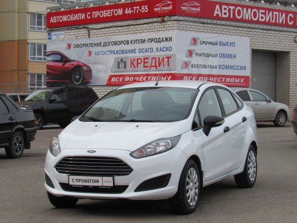 Ford Fiesta, 2016 год, 539 000 руб.