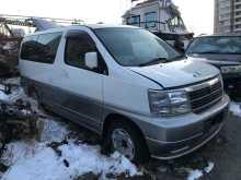 Владивосток Elgrand 2000
