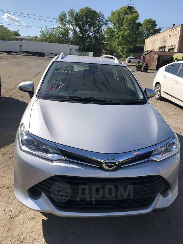 Toyota Corolla Fielder, 2016 год, 950 000 руб.