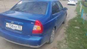Hyundai Accent, 2003 г., Омск