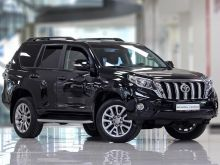 Toyota Land Cruiser Prado, 2016 г., Москва