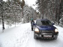 Kia Sportage, 2004 г., Новосибирск
