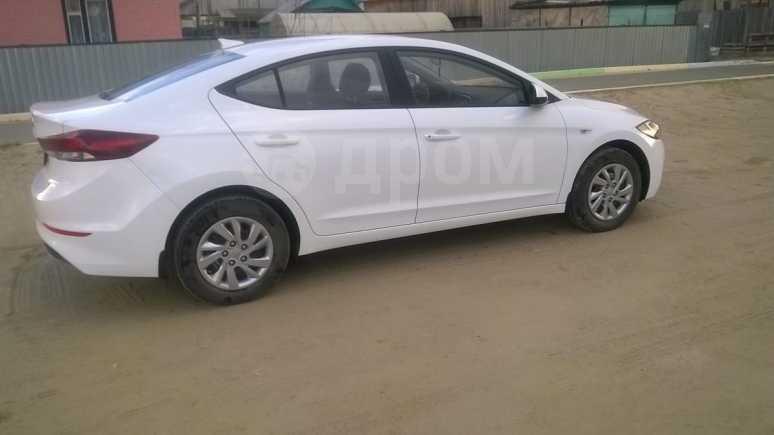 Hyundai Elantra, 2017 год, 710 000 руб.