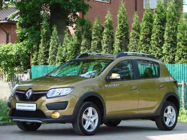 Renault Sandero Stepway, 2017 год, 665 000 руб.
