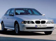 BMW 5-Series рестайлинг, 4 поколение, 09.2000 - 06.2003, Седан