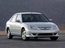 Honda Civic рестайлинг, 7 поколение, 09.2003 - 08.2005, Седан