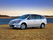 Honda Stream рестайлинг, 1 поколение, 09.2003 - 01.2006, Минивэн
