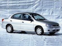 Kia Rio 2000, седан, 1 поколение, DC