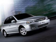 Kia Rio рестайлинг 2002, седан, 1 поколение, DC