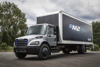 Производство электрических Freightliner начнется в 2021 году.