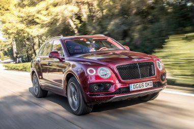 В России начались продажи Bentley Bentayga с бензиновым V8
