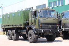 Помимо машин с колесной формулой 6x6 на Украине выпускают МАЗ-5316 4x4.