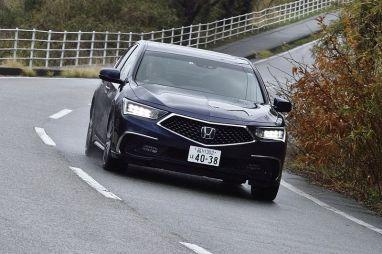 Honda Legend в кузове DAA-KC2: знакомство и драйв-тест обновленного флагмана