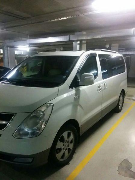 Hyundai Starex 2012 - отзыв владельца