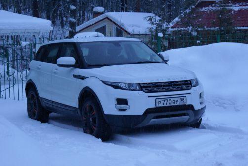 Land Rover Range Rover Evoque 2012 - отзыв владельца