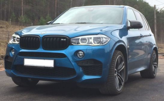 BMW X5 2016 - отзыв владельца