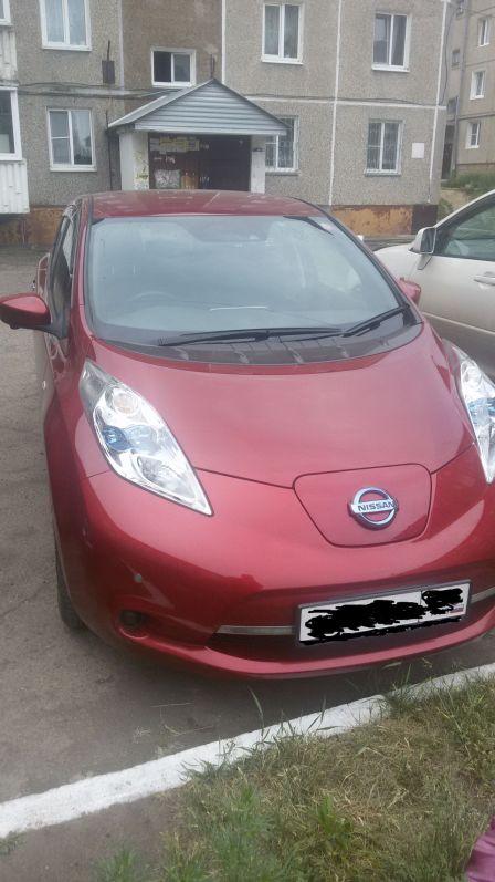 Nissan Leaf 2015 - отзыв владельца