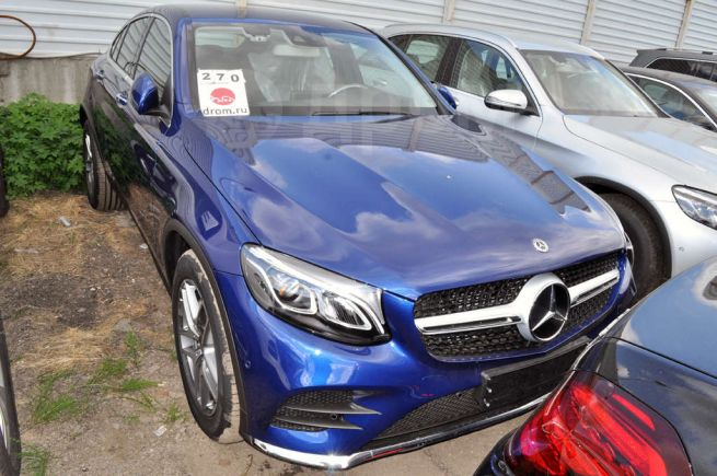 Mercedes-Benz GLC Coupe, 2017 год, 3 750 000 руб.