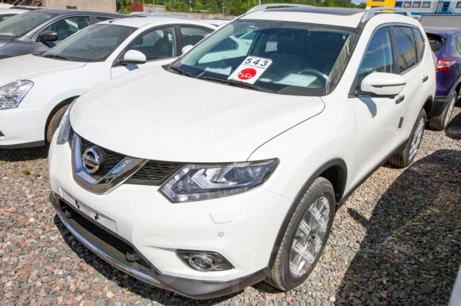 Nissan X-Trail, 2018 год, 1 951 000 руб.