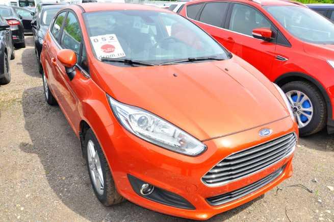 Ford Fiesta, 2017 год, 968 000 руб.