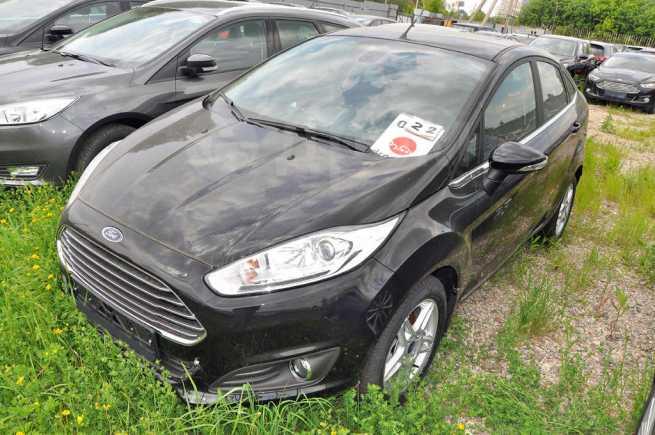 Ford Fiesta, 2016 год, 940 500 руб.